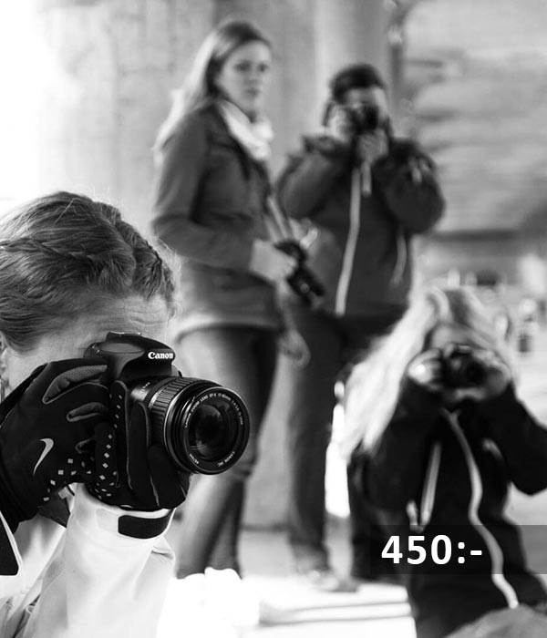 Fotokurs grundkurs steg1